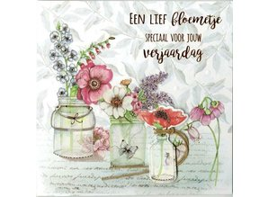 Paperclip Wishes & Quotes Wenskaart (12)