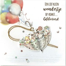 Paperclip Wishes & Quotes Wenskaart (30)