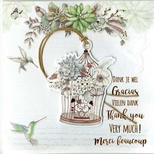 Paperclip Wishes & Quotes Wenskaart (34)