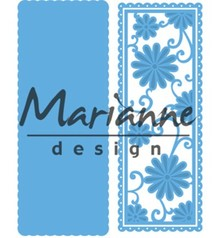 Marianne Design Creatable Anja's Flower Rectangle (LR0516)