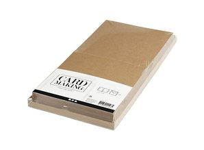 Paperpads.nl SELECT Kaarten & Enveloppen Set Naturel 15x15 cm  (23117)