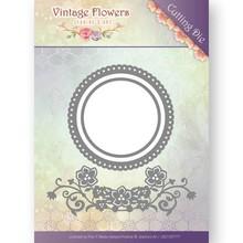 Jeanine's Art Vintage Flowers Flowers And Circles Die (JAD10034)