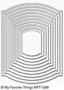 My Favorite Things Die-Namics Elegant Rectangle STAX (MFT-1268)