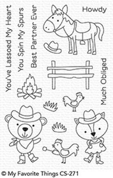My Favorite Things Best In The West Clear Stamps (CS-271)