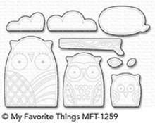 My Favorite Things Die-Namics Owl My Love (MFT-1259)