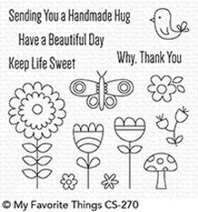 My Favorite Things Beautiful Day Clear Stamps (CS-270)