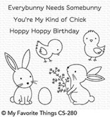 My Favorite Things Hoppy Friends Clear Stamps (CS-280)