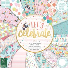 First Edition Let's Celebrate 8x8 Inch Paper Pad (FEPAD189)