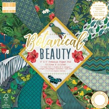 First Edition Botanical Beauty 8x8 Inch Paper Pad (FEPAD186)