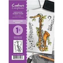 Crafter's Companion Saxophone Burst Unmounted Rubber Stamp Set (CC-ST-SB)