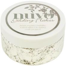 Nuvo Gilding Flakes Silver Bullion (NGF851)