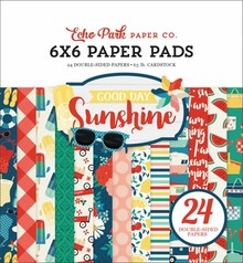 Echo Park Good Day Sunshine 6x6 Inch Paper Pad (GDS149023)