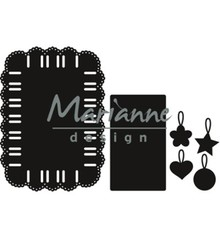 Marianne Design Craftable Ribbon Rectangle (CR1436)
