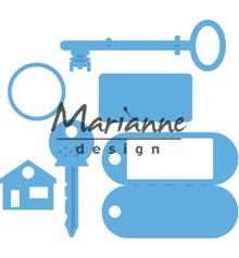 Marianne Design Creatable Key Ring (LR0523)