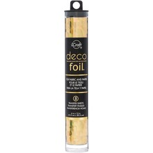 Therm O Web iCraft Specialty Deco Foil Gold Shattered Glass (DFS6X12 54075)