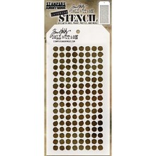 Stampers Anonimous Tim Holtz Dotted Layering Stencil (THS100)