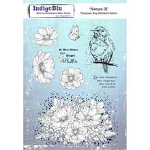 IndigoBlu Nature III A5 Rubber Stamp (IND0415)