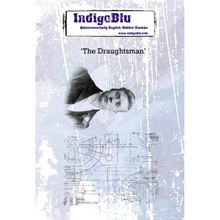 IndigoBlu The Draughtsman A6 Rubber Stamp (IND0396)