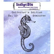 IndigoBlu Collectors Edition 12 Rubber Stamp - Seahorse (IND0389)
