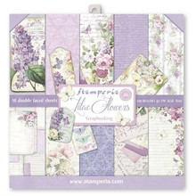 Stamperia Lilac 12x12 Inch Paper Pack (SBBL21)