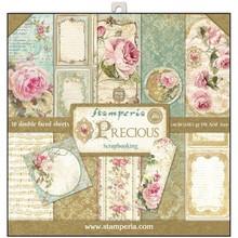 Stamperia Precious 12x12 Inch Paper Pack (SBBL24)