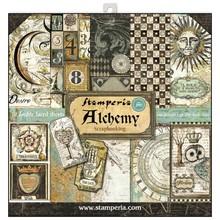 Stamperia Alchemy 12x12 Inch Paper Pack (SBBL34)