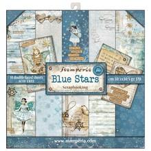 Stamperia Blue Stars 12x12 Inch Paper Pack (SBBL35)