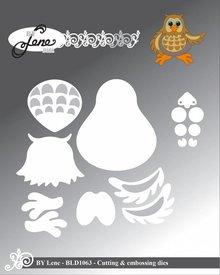 By Lene Metal Dies Owl (BLD1063)
