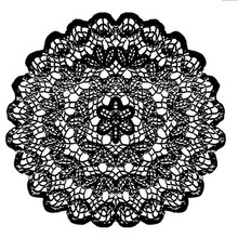 Stamperia Natural Rubber Stamp Lace (WTKCC15)