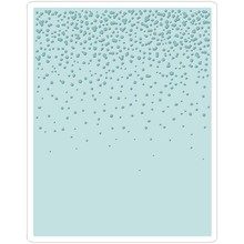 Sizzix Texture Fades Snowfall Speckles Embossing Folder (661008)