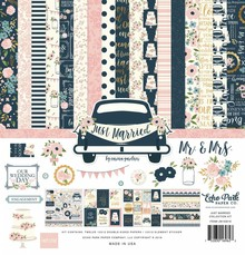 Echo Park Just Married 12x12 Inch Collection Kit (JM153016)