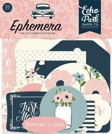 Echo Park Just Married Ephemera (JM153024)