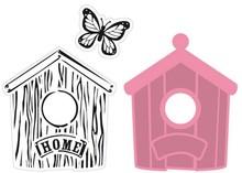 Marianne Design SUPER KNALLER Collectable Birdhouse Home (COL1309)