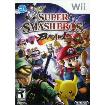 Wii Super Smash Brothers Brawl kopen