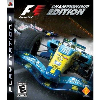 PS3 F1 Championship Edition kopen
