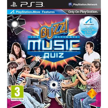 PS3 Buzz! The Ultimate Music Quiz
