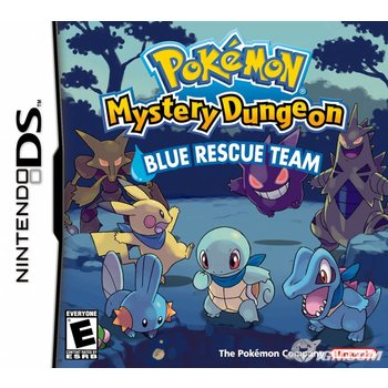 DS Pokemon Mystery Dungeon: Blue Rescue Team