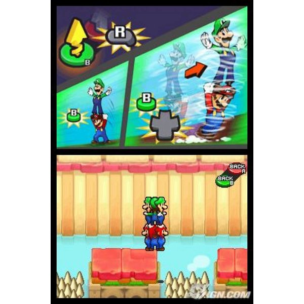 DS Mario & Luigi: Partners in Time