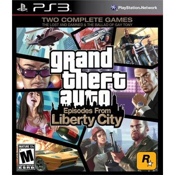 PS3 GTA: Episodes from Liberty City