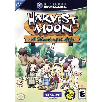 Gamecube Harvest Moon: A Wonderful Life
