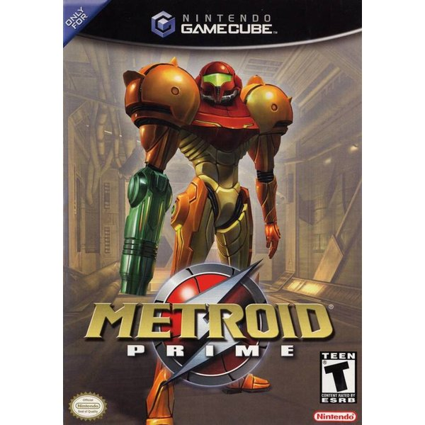 Gamecube 2nd hand: Metroid Prime