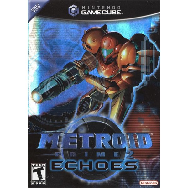 Gamecube 2nd hand: Metroid Prime 2 Echoes