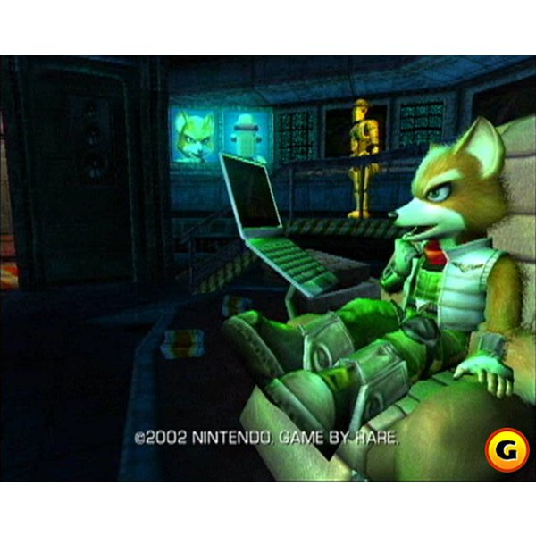 Gamecube 2nd hand: Starfox Adventures