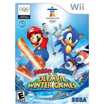 Wii Mario & Sonic Olympic Wintergames