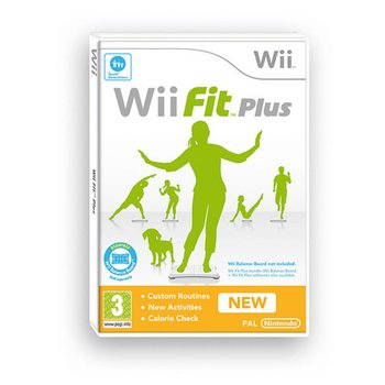 Wii Wii Fit Plus (game only)