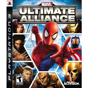 PS3 Marvel Ultimate Alliance