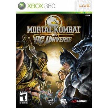 Xbox 360 Mortal Kombat vs.. DC Universe