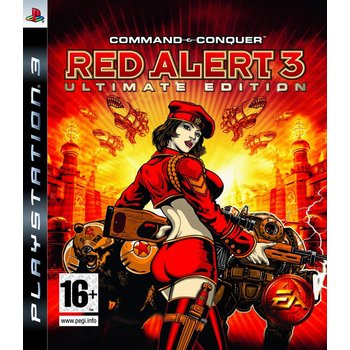 PS3 Command & Conquer: Red Alert 3