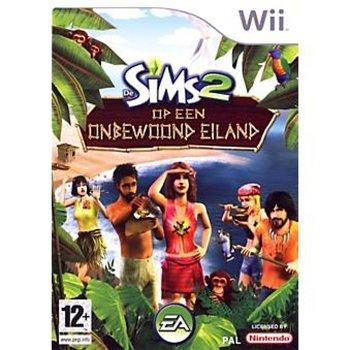 Wii Sims 2 Onbewoond Eiland kopen