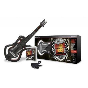 PS3 Guitar Hero Warriors of Rock Bundle